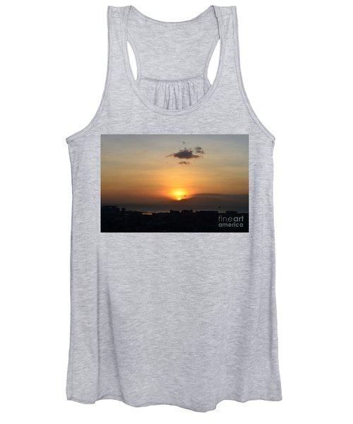Sunset Upon The Ocean  Women's Tank Top