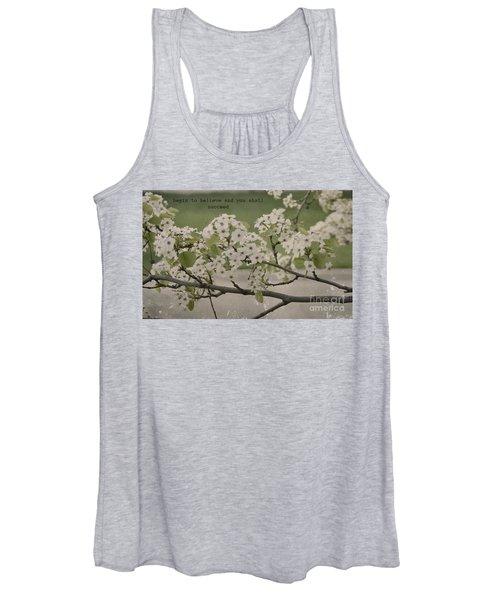 Vintage Spring Women's Tank Top