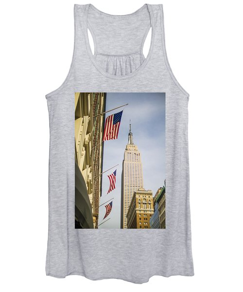 Empire State Building Women's Tank Top