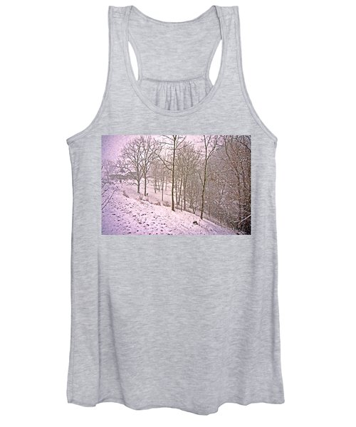 A Walk In The Snow Women's Tank Top