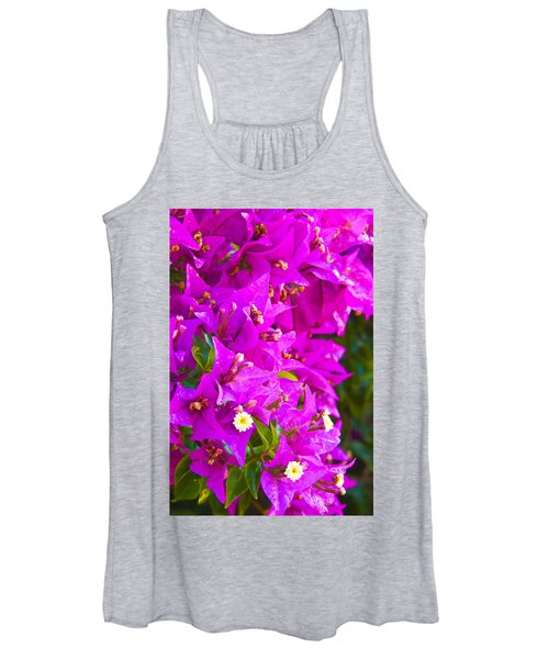 A Wall Of Flowers Women's Tank Top
