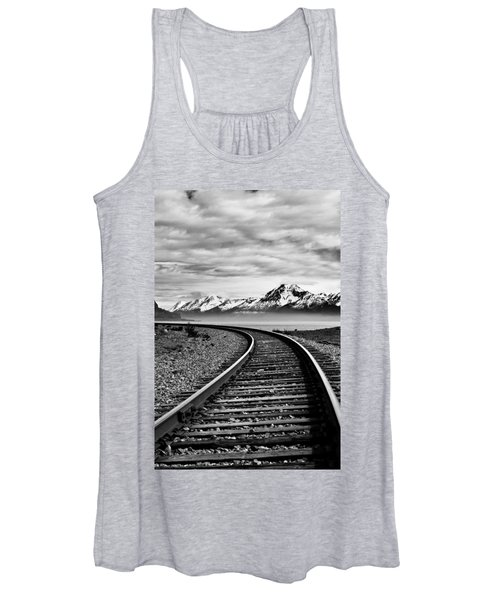 Alaska Railroad Women's Tank Top