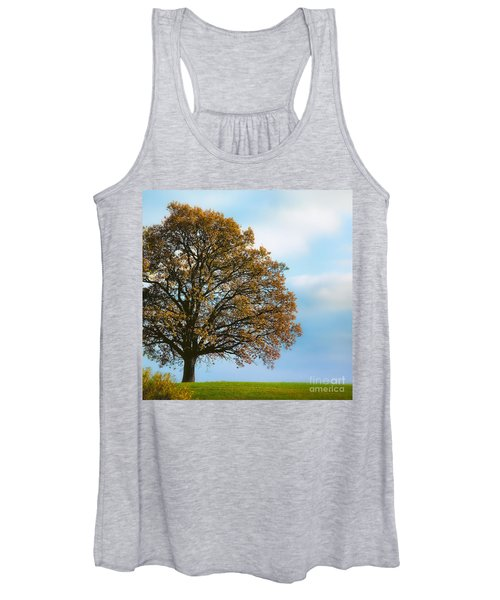 Alone On The Hill Women's Tank Top