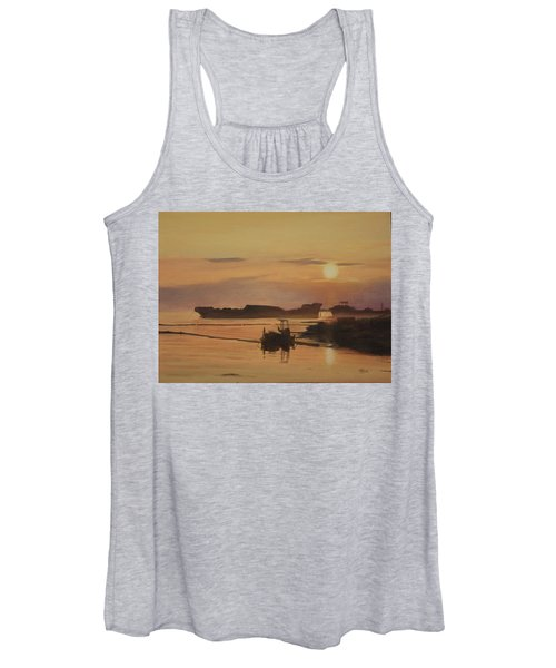 At The End Of It's Day Women's Tank Top