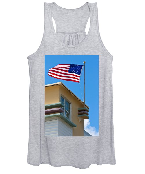 Avalon Hotel In Miami Beach Women's Tank Top
