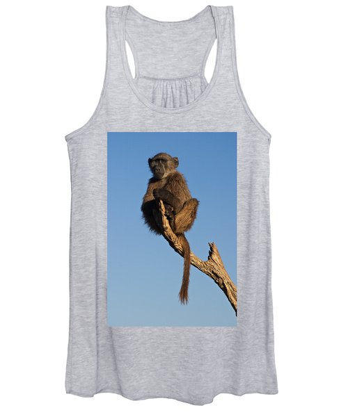 Baboon Sentry Namibia Women's Tank Top