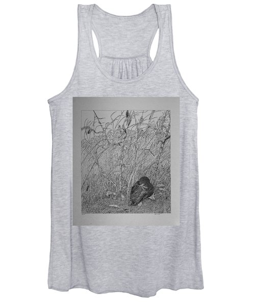 Bird In Winter Women's Tank Top