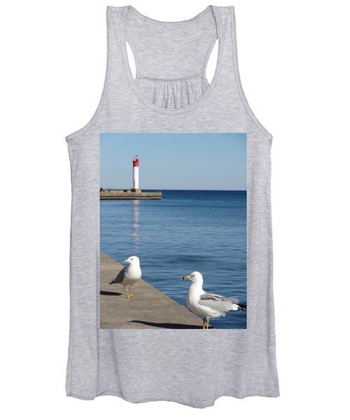 Bronte Lighthouse Gulls Women's Tank Top