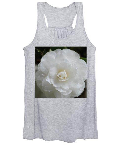 Camellia After Rain Storm Women's Tank Top