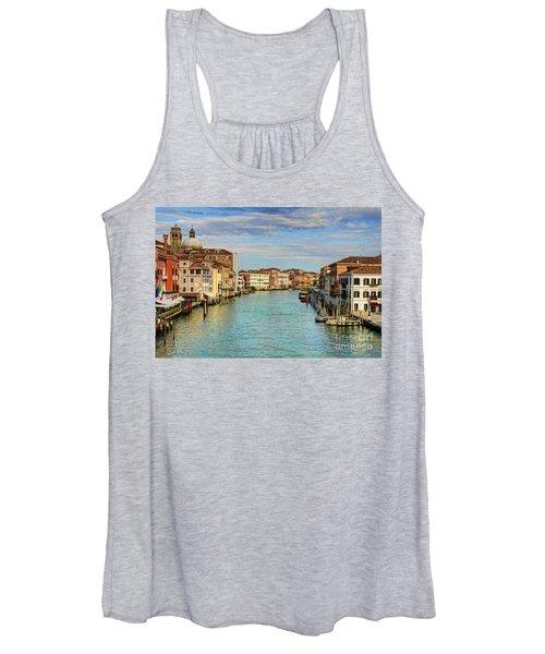 Canals Of Venice  Women's Tank Top
