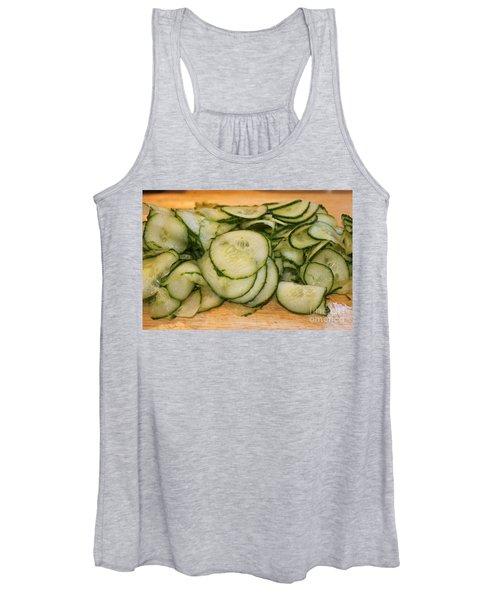 Cucumbers Women's Tank Top