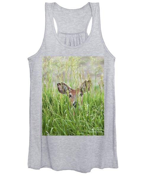 Deer In Hiding Women's Tank Top