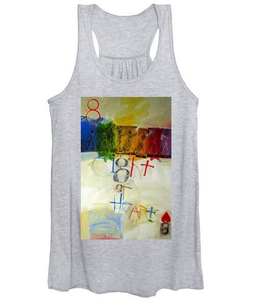 Eight Of Hearts 34-52 Women's Tank Top