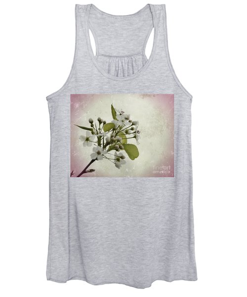 Etched In Love Women's Tank Top