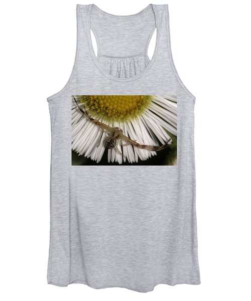 Flower Spider On Fleabane Women's Tank Top