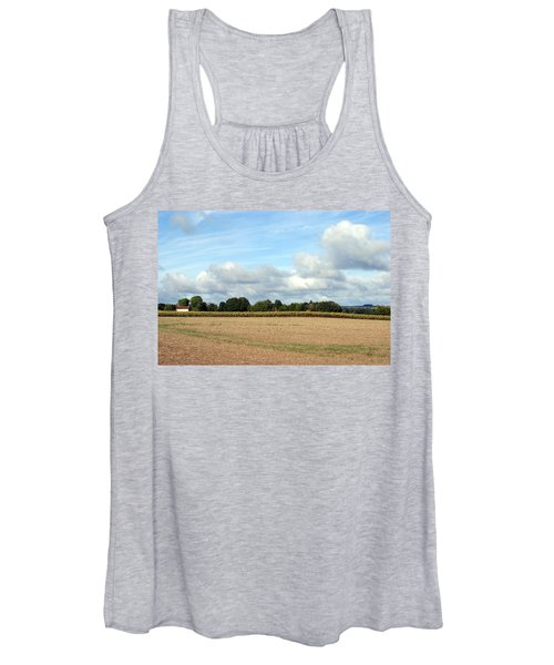 French Countryside Women's Tank Top
