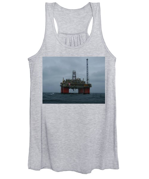 Grey Day At Snorre Women's Tank Top