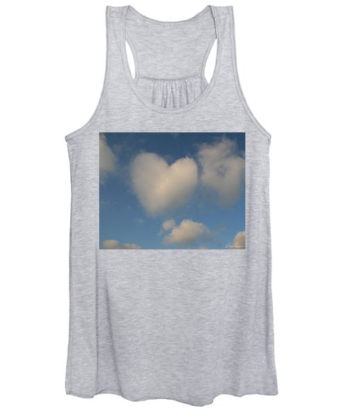 Heart In The Clouds Women's Tank Top