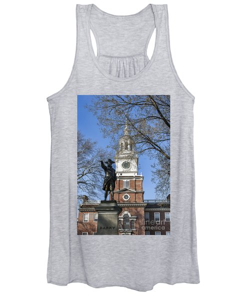 Independence Hall Spring Women's Tank Top