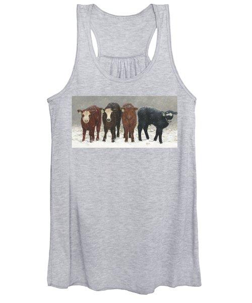 Inquisitive Calves Women's Tank Top