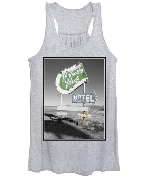 Last Chance Motel Women's Tank Top