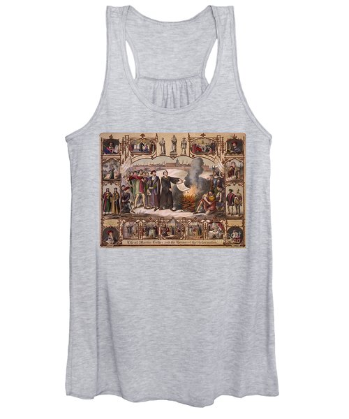 Life Of Martin Luther And Heroes Women's Tank Top