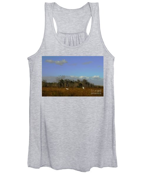 Lifes Field Of Dreams Women's Tank Top