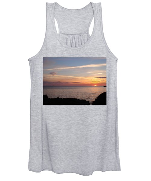 Lone Freighter On Up Women's Tank Top