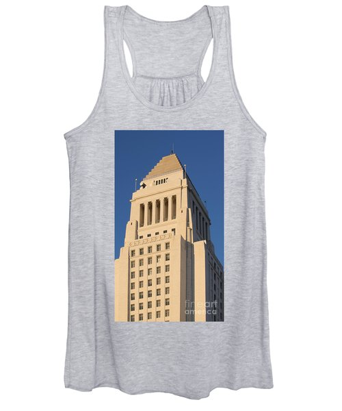 Los Angeles City Hall Women's Tank Top