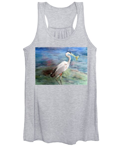 Lunchtime Watercolour Women's Tank Top