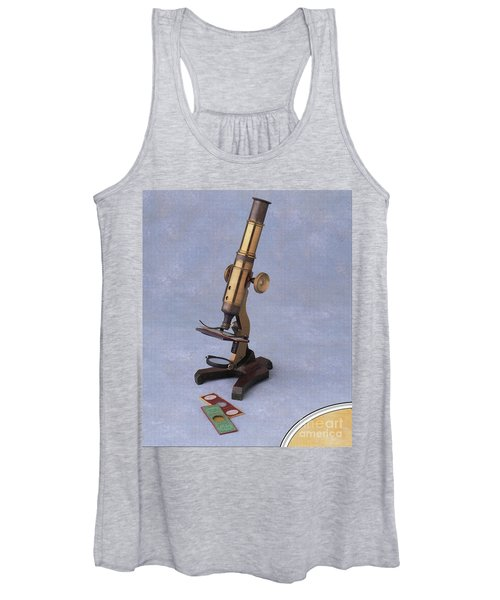 Microscope And Slides Women's Tank Top