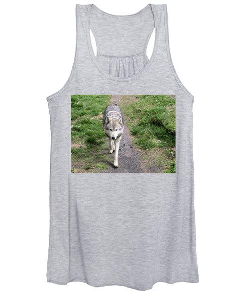Montana Gray Wolf 02 Women's Tank Top