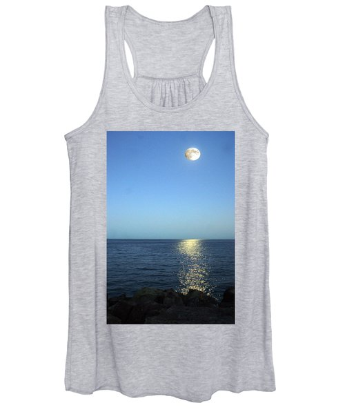 Moon And Water Women's Tank Top