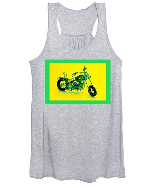 Motorbike 1b Women's Tank Top