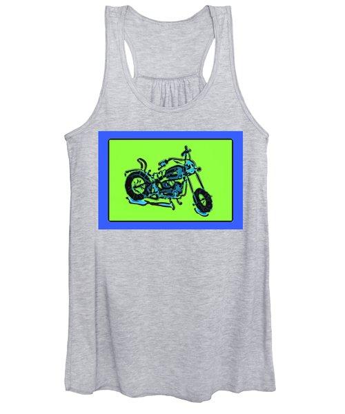 Motorbike 1c Women's Tank Top