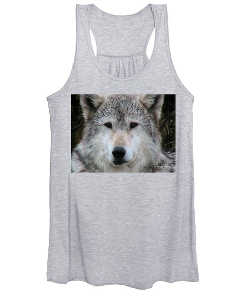 Mr. Alpha Montana Wolf Women's Tank Top