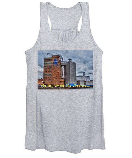 My City Smells Like Cheerios Women's Tank Top