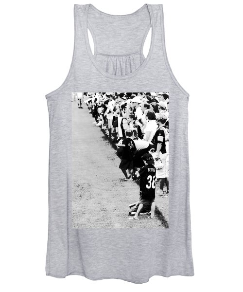 Number 1 Bettis Fan - Black And White Women's Tank Top
