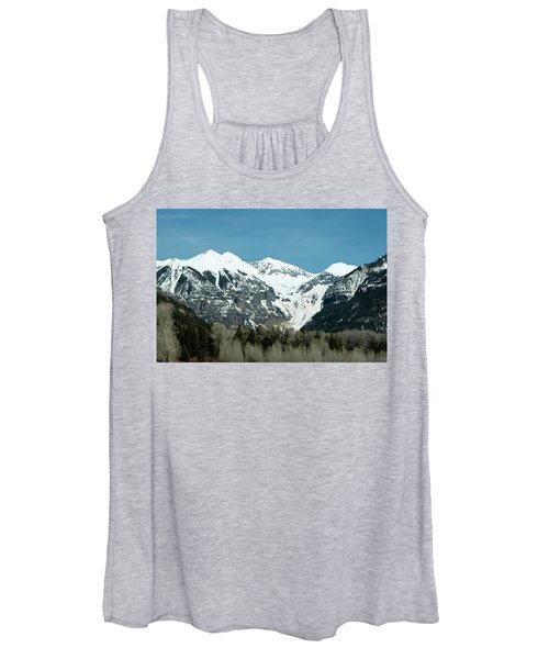 On The Road To Telluride Women's Tank Top