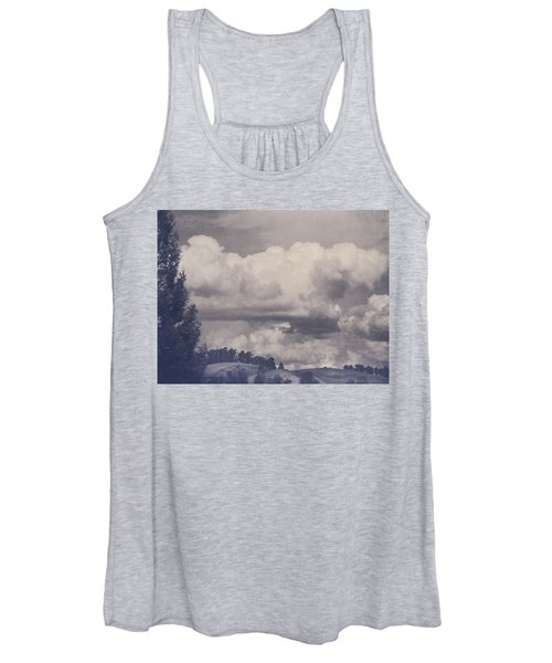 Overwhelmed Women's Tank Top