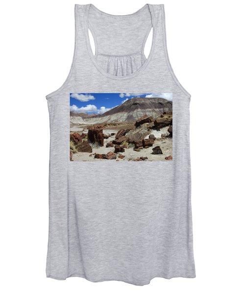 Petrified Forest 2 Women's Tank Top