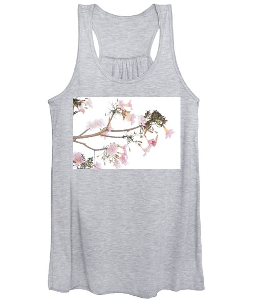 Pink Blossoms In Panama Women's Tank Top