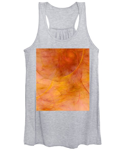 Poetic Emotions Abstract Expressionism Women's Tank Top