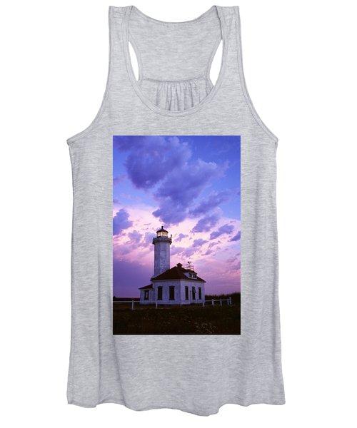 Point Wilson Lighthouse Women's Tank Top