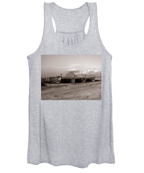 Old Port Of Trapani Women's Tank Top