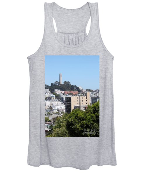 San Francisco Coit Tower Women's Tank Top