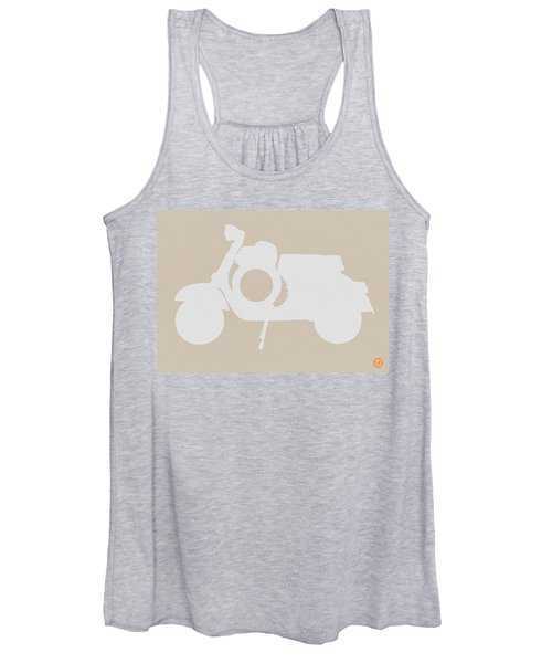 Scooter Brown Poster Women's Tank Top