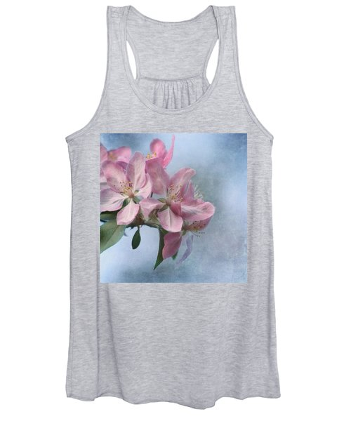 Spring Blossoms For The Cure Women's Tank Top