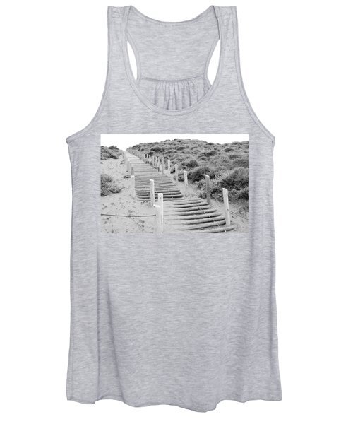 Stairs At Baker Beach Women's Tank Top