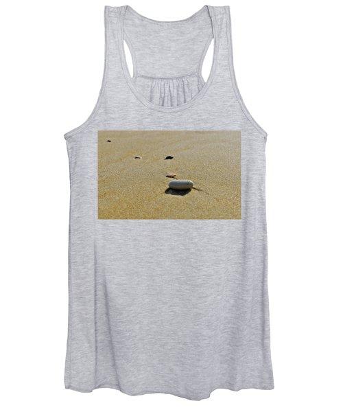Stones In The Sand Women's Tank Top
